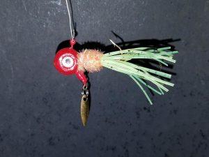 Brush Bug Spinner Jigs