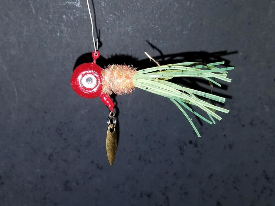 Brush Bug Spinner Jigs