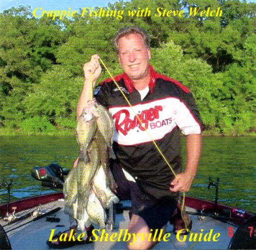 DVD - Crappie Fishing on Lake Shelbyville with Steve Welch