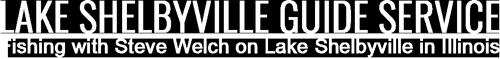 Lake Shelbyville Fishing Guide Service Logo